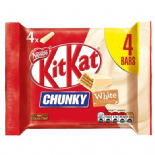 Kit Kat Chunky White 4 Pack 160G